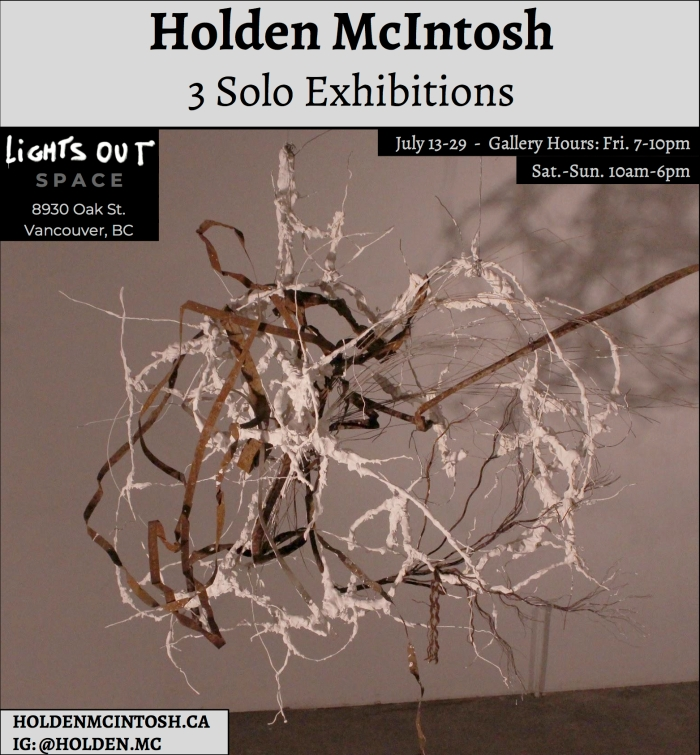 3 Solo Exhibitions1 - Holden McIntosh